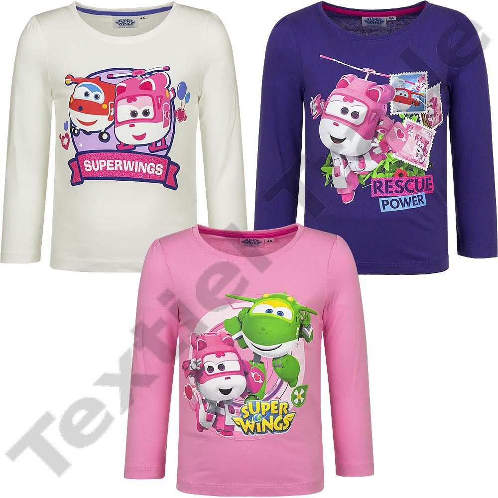 Super Wings T-Shirt Manches Longues