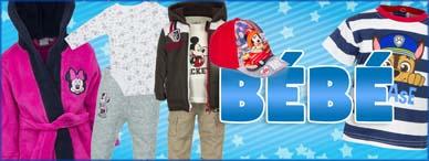 Vente en gros de vêtements pour bébés